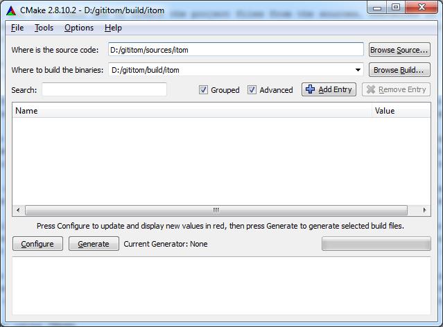 3 3 3  Build with CMake — itom Documentation