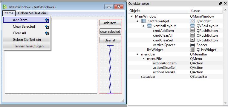 Creating advanced dialogs and windows — itom Documentation